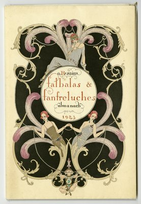 Cover of Falbalas et Fanfreluches, 1923
