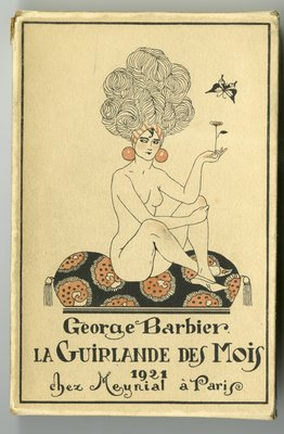 Front Cover of Slipcase for La Guirlande des Mois 1921
