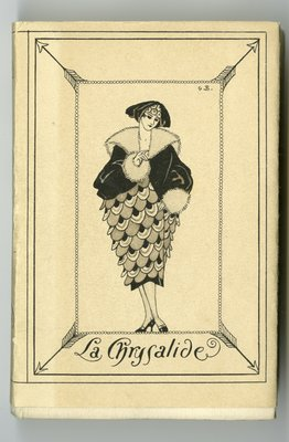 Front of Book Jacket for La Guirlande des Mois 1921