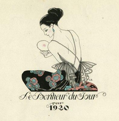 Title Page of Le Bonheur du Jour, 1920