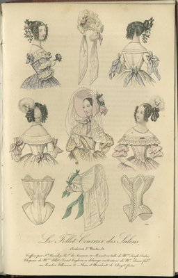 Hairstyle by Fd. Hamelin, Fashion Plate from Le Follet