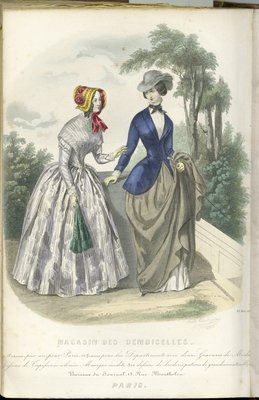 Fashion Plate from Magasin des Demoiselles