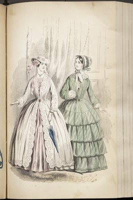 Fashion Plate from Godey's Lady's Book
