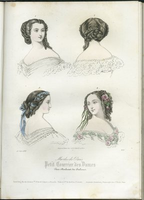 Fashions for June, Fashion Plate from Frank Leslie's Ladies Gazette of Fashion