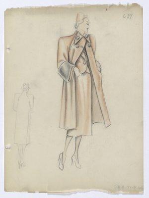 Orange Coat and Suit