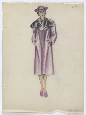 Spotted Purple Coat