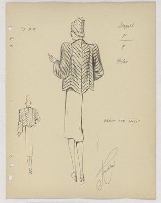 Francevrainmant Fur Jacket