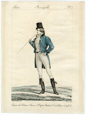 Man in Cutaway Coat and Riding Boots