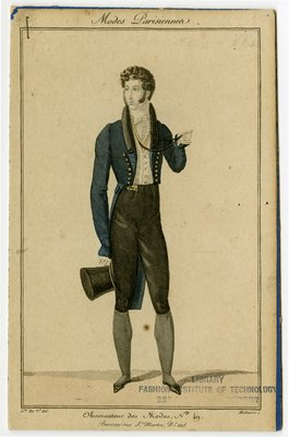 Man in Cutaway Coat and Breeches