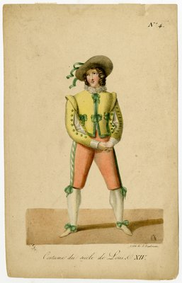 Costume du Siècle de Louie XIV