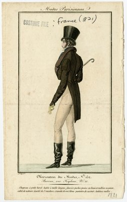 Top Hat and Boots with Spurs