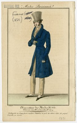 English-Style Frock Coat