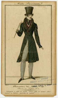Frock Coat with Fur Collar