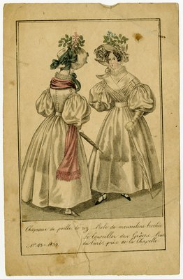 Two Women in Mousseline Dresses