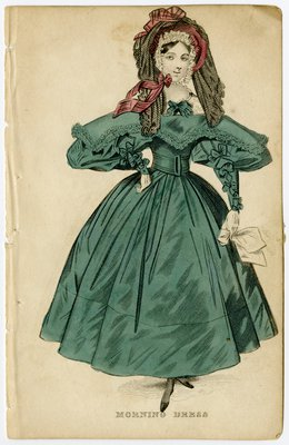 Woman in Veiled Bonnet