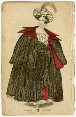 Woman in Opera Dress and Turban