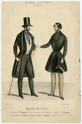 Two Men in Frock Coats