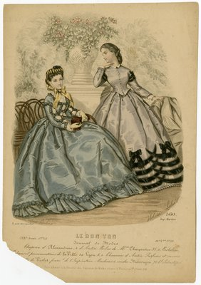 Two Women in Gowns