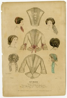 Lace Jackets and Various Hairstyles