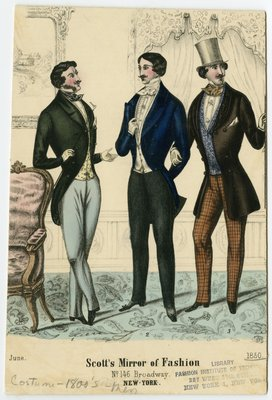 Three Men in June Fashions