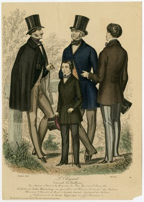 Three Men and a Boy in Jackets