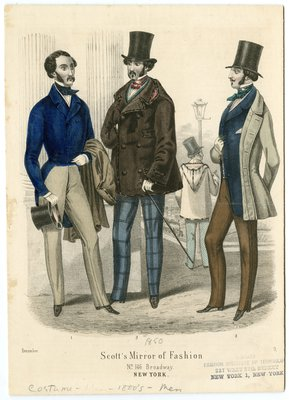 Four Men in December Fashions