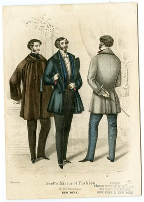 Three Men in Various Coats