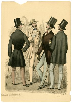 Four Men in July Fashions