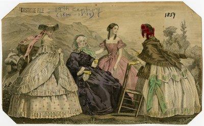 Four Women Outdoors