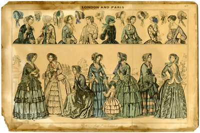 Fashions for October 1851