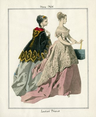 Two Women in May Fashions