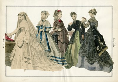 Group of Women Including Bride