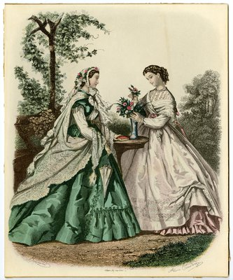 Two Women Arranging Flowers