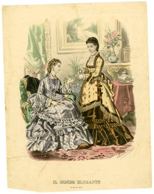 Two Women at Tea