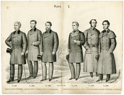Six Men in Overcoats