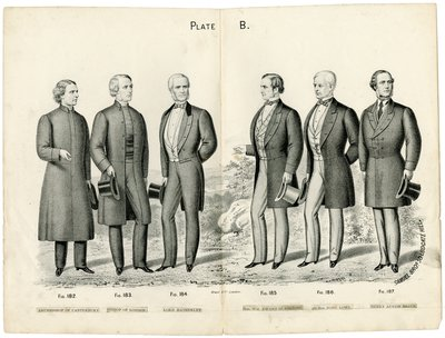 Six Men in Various Coats