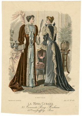 Two Women in a Dressing Room