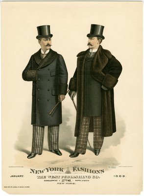 Two Men in Fur-Lined Coats