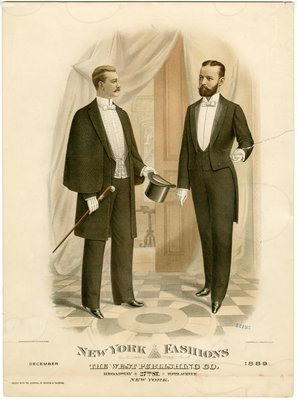 Two Men in Evening Wear