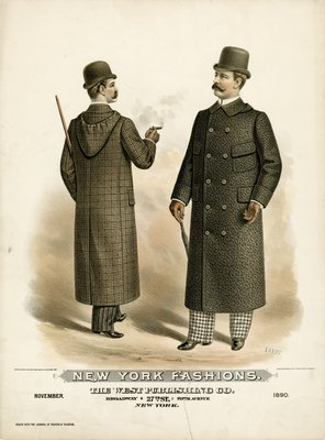 Two Men in Ulster Coats
