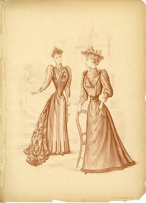 Two Women Conversing on Steps