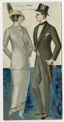 Woman and Man in Suit