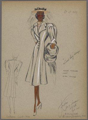 Short sleeved coat.