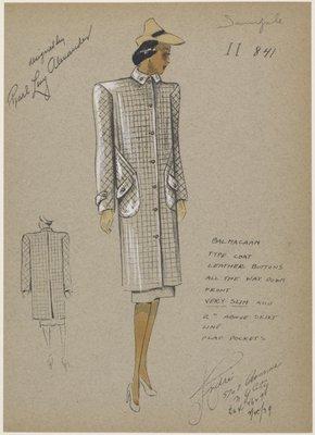Balmaccan type coat.