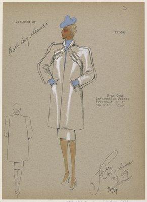 Boxy Coat.