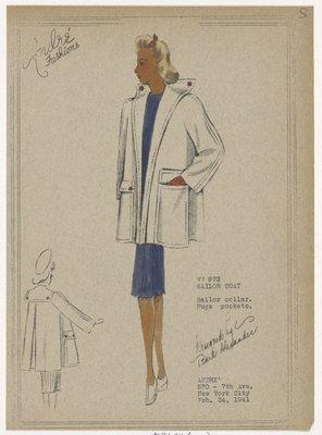 Sailor coat.