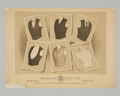 American Fashions, Supplement, August 1887