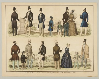 Scott's Fashions, Summer 1847