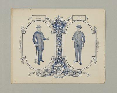 Menswear Trade Plate, 1887