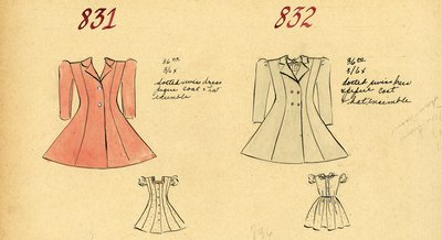 Girl's Dresses and Coats